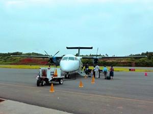 Flugverkehr zwischen den Inseln