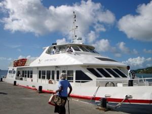 Mit der Fähre von Grenada nach Carriacou