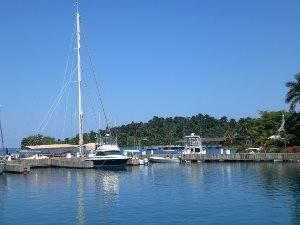 Boote im Hafen von Port Antonio