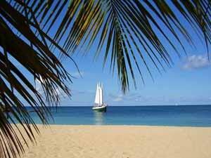 Guadeloupe Segeltörn hin zu verborgenen Buchten und Stränden