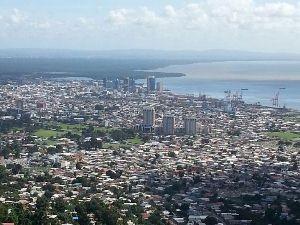 Ausblick auf Port of Spain