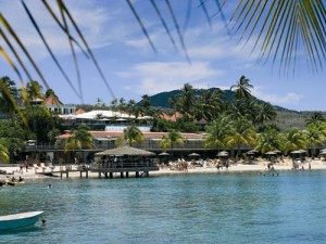 Anse Mitan Beach auf Martinique