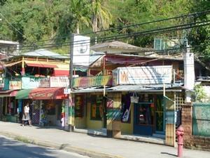 Der Hip Strip in Montego Bay