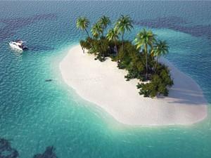 Die Mayreau Inseln in den Grenadinen
