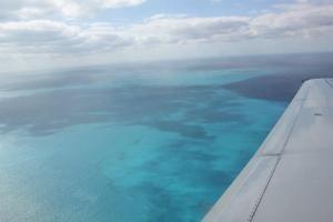 Ihr Flug in die Karibik