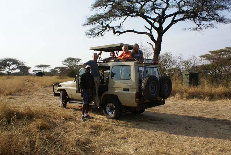Safari jeep - Tanzania vakantie