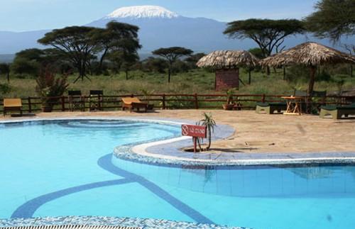 amboseli zwembad camp kenia