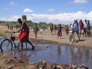 op de trappers kenia tanzania