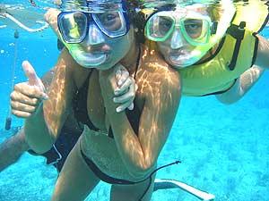 snorkeling diani kenia