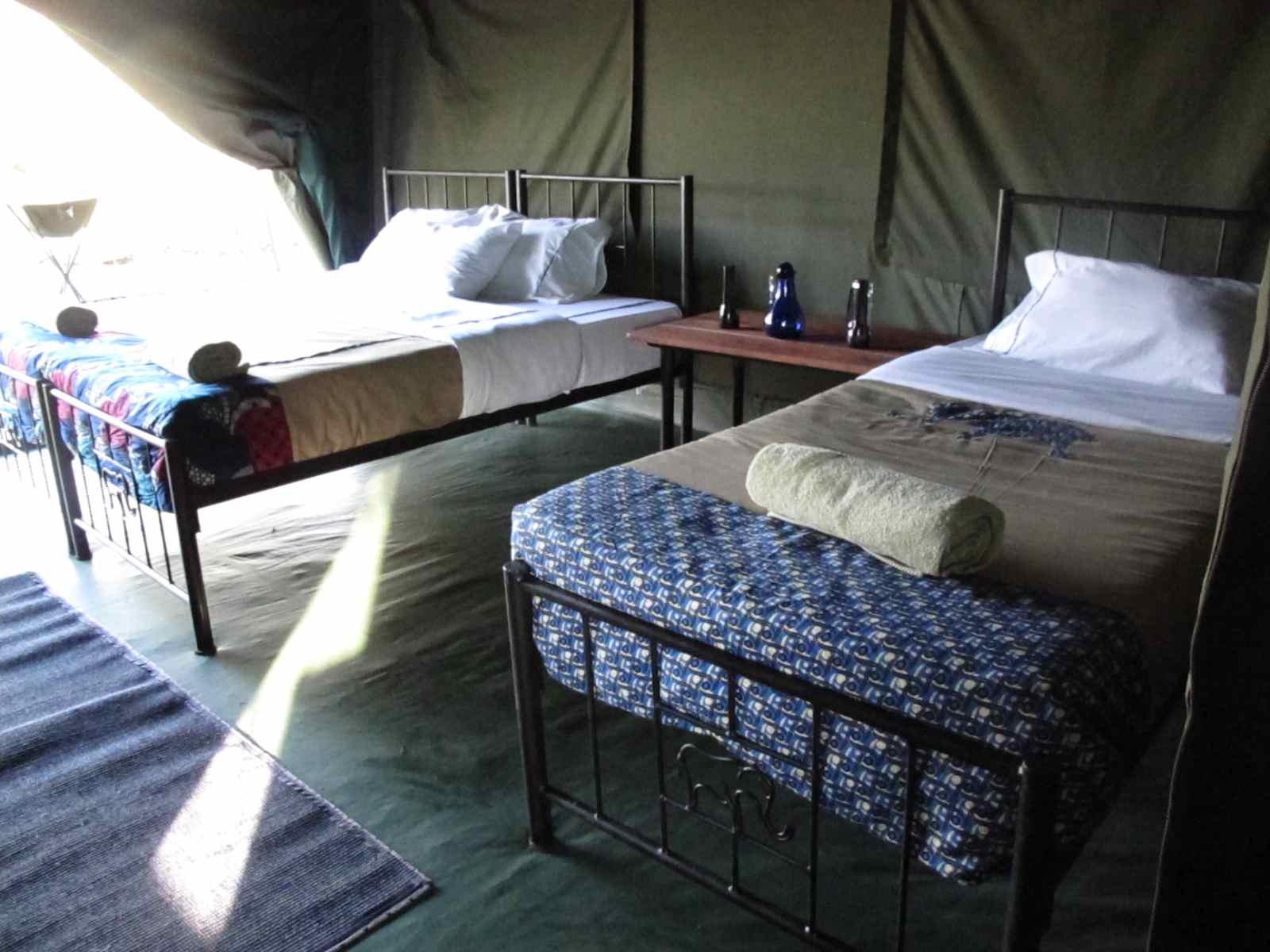 tanzania in de tent
