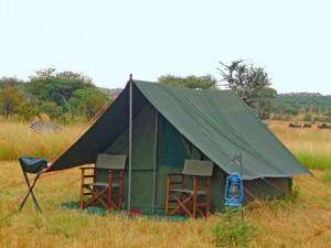 kamperen serengeti tanzania