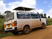 kenia kamperen minivan