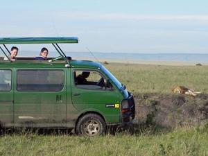 kenia safari busje
