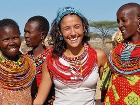 In het spoor van de blanke Masai