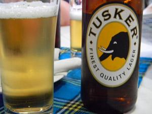 kenia afrikaans tusker biertje