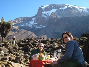 kilimanjaro beklimming ontbijt