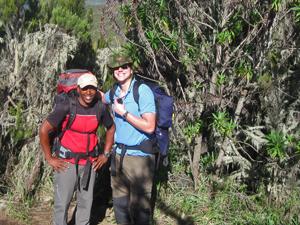 tanzania kilimanjaro beklimming rugzak