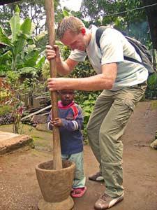 Tanzania koffie plukken