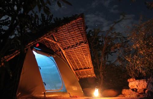 kenia eco camp tent