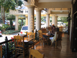 Kenia Nairobi veranda hotel