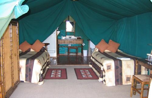 kenia nanyuki safaritent