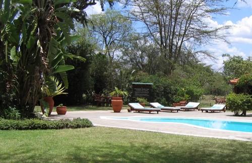 kenia nanyuki zwembad