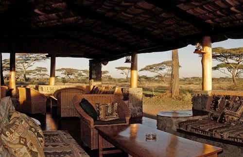 tanzania ngorongoro krater lounge
