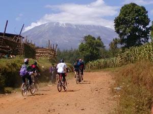 Tanzania fietsen kilimanjaro