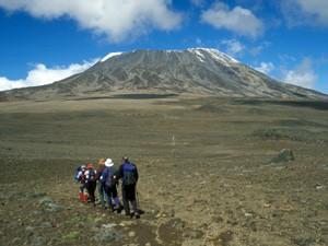 Rongai route Tanzania reizen