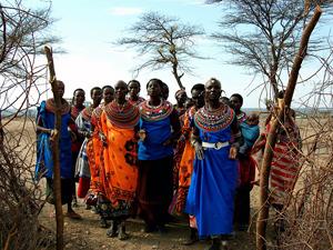 safari Samburu Kenia