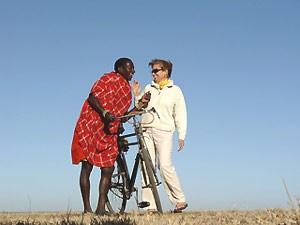 tanzania fietsen locals