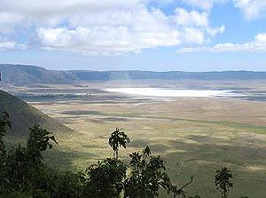tanzania krater view