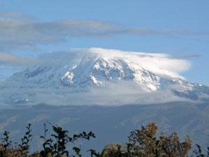 tanzania uitzicht kilimanjaro