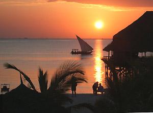 tanzania reizen zanzibar sunset