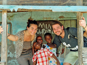 tanzania reizen familie