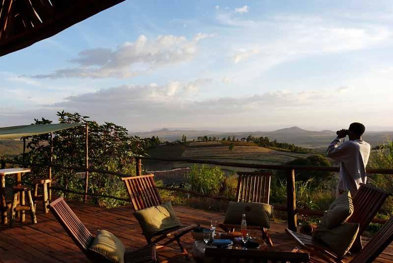 Vakantie Kenia Tanzania - safari lodge