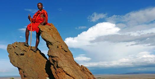 Reis Kenia Masai