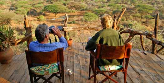 Uitzicht tijdens je reis Kenia
