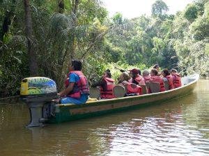 Boottocht door de Amazone