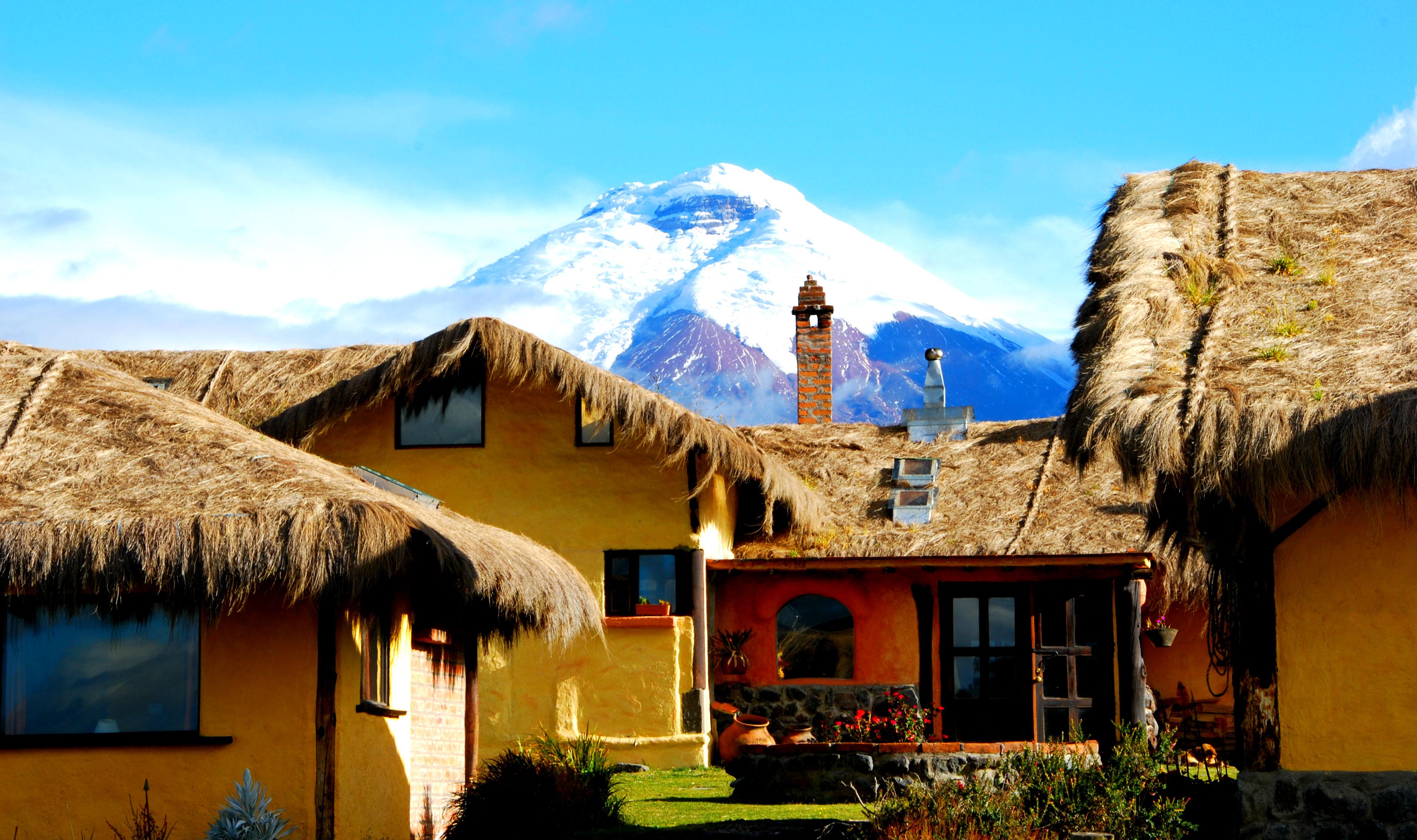 Witte toppen en haciendas