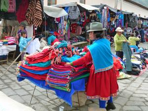 alausi markt ecuador
