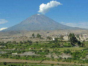 arequipa misti vulkaan peru ecuador