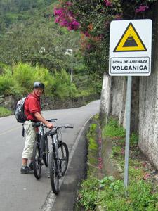 fietsen Ecuador reis Baños