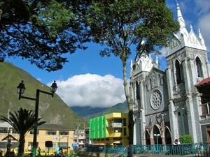banos ecuador centrale plein