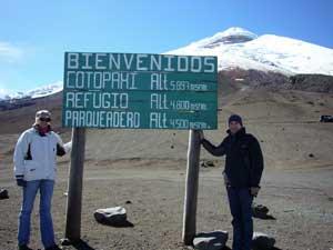 cotopaxi ecuador bergwandeling
