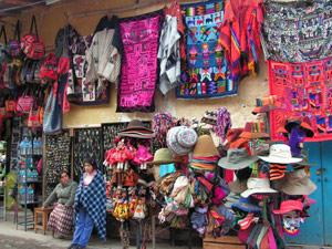 cusco winkelen peru ecuador