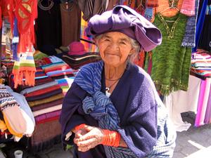 lokale markt Ecuador reis Otavalo