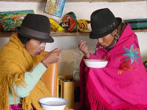 Ecuador gezondheid - eten en drinken