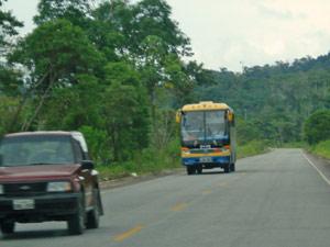 ecuador reis onderweg