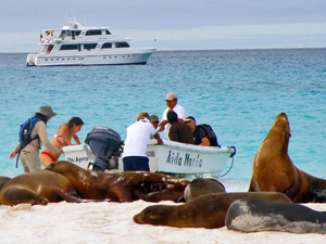 Galapagos reizen boot